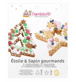 Etoile & Sapin gourmands réf.FRA9759