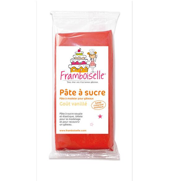 Sachet pâte à sucre rouge 250 g