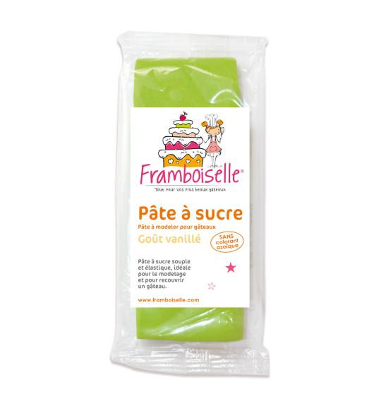 Sachet pâte à sucre vert prairie 250 g