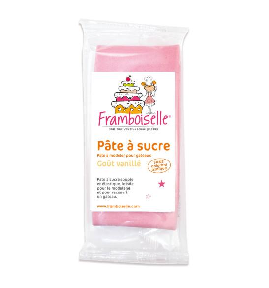 Sachet pâte à sucre rose 250 g