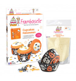 Détail kit cupcakes d'Halloween