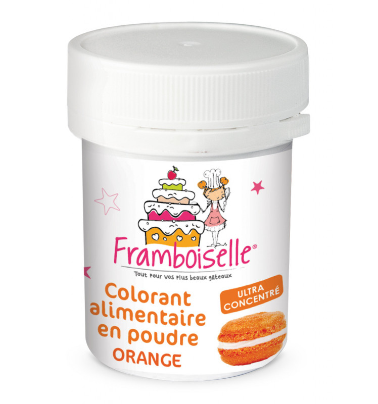 Colorant en poudre artificiel orange 5g