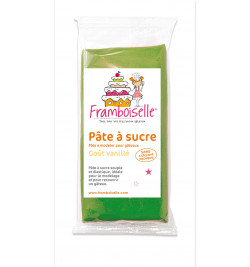 Sachet pâte à sucre vert foncé 250 g