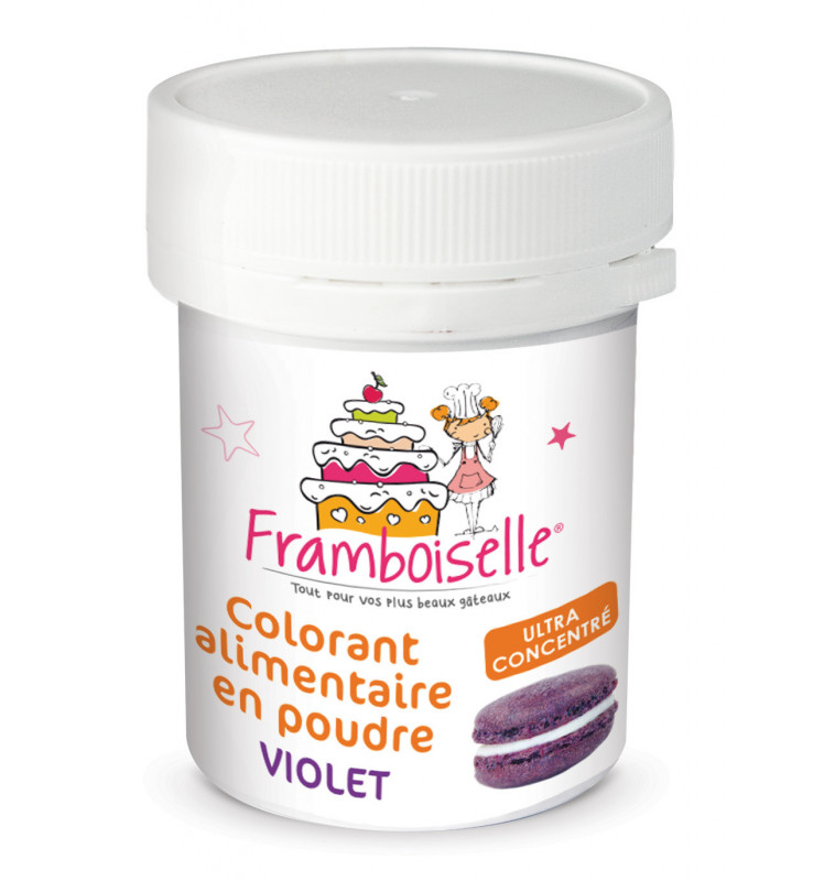Colorant en poudre artificiel violet 5g