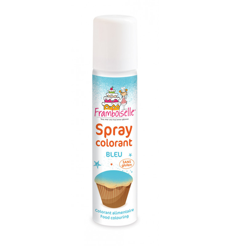 Spray colorant bleu 75 ml