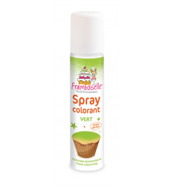 Spray colorant vert 75 ml