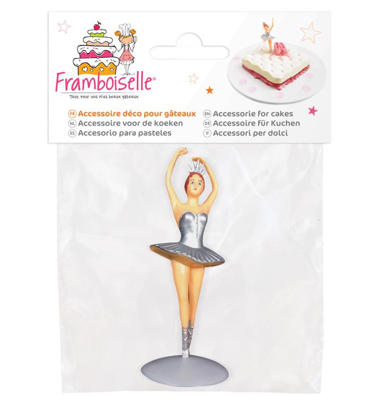 Accessoire déco pour gâteaux danseuse