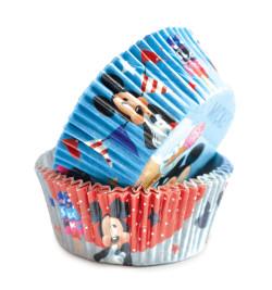 +/- 36 caissettes de présentation Mickey