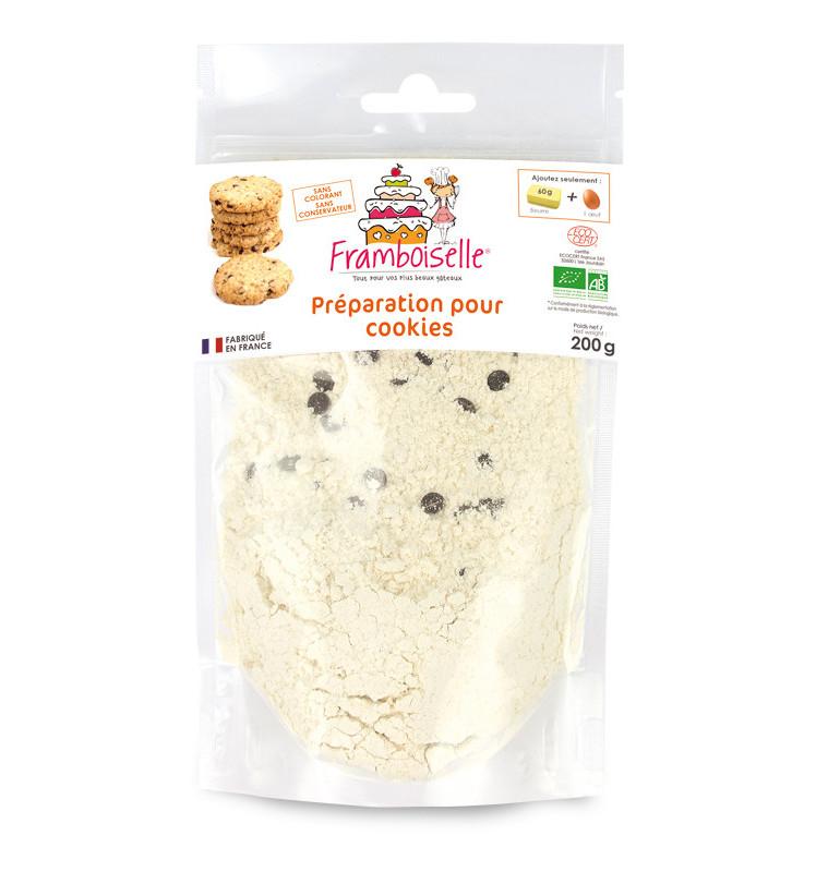 Préparation BIO cookies 200 gr