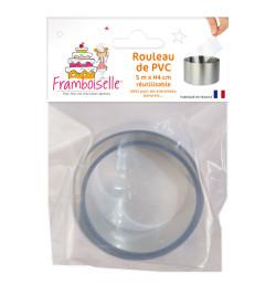 Rouleau rhodoïde réutilisable