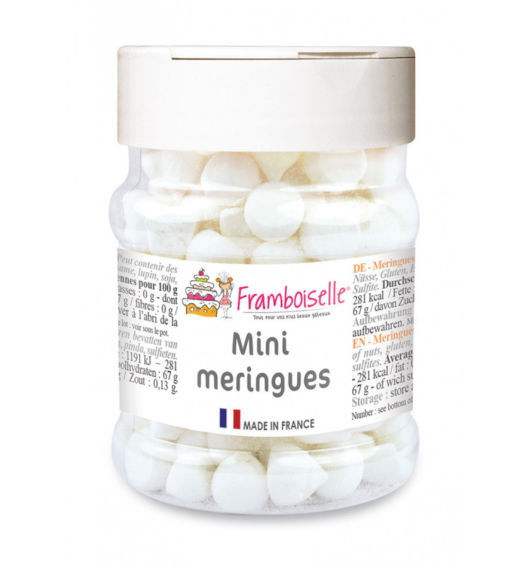Minis meringues blanches 40g