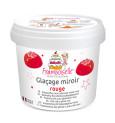 Pot mix glaçage miroir rouge 220g