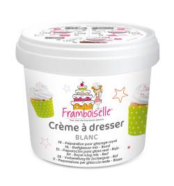 Pot crème à dresser blanche 150g FRA9095
