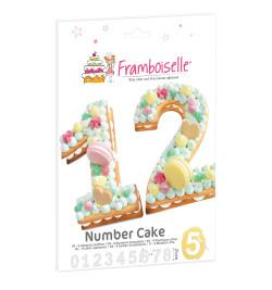 Number Cake réf.FRA8997