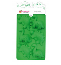 Moule silicone multi 6 dinos réf.FRA9793