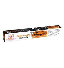 Rouleau pâte à sucre imprimée Halloween réf.FRA9706